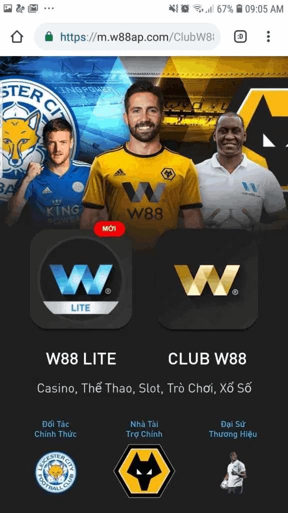Cách tải App W88 Lite về điện thoại Android & iSO đơn giản