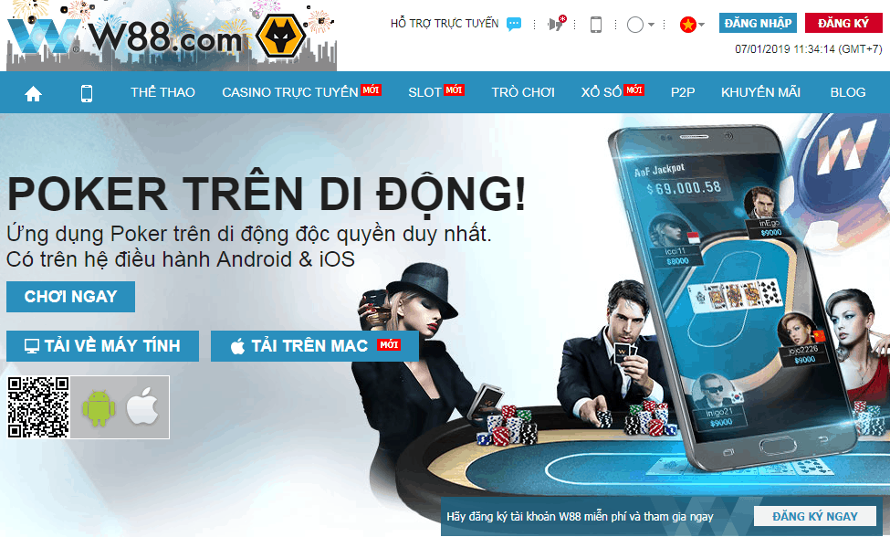 W88 Poker là gì? Nhà cái hàng đầu Châu Á W88 Poker có gì đặc biệt?