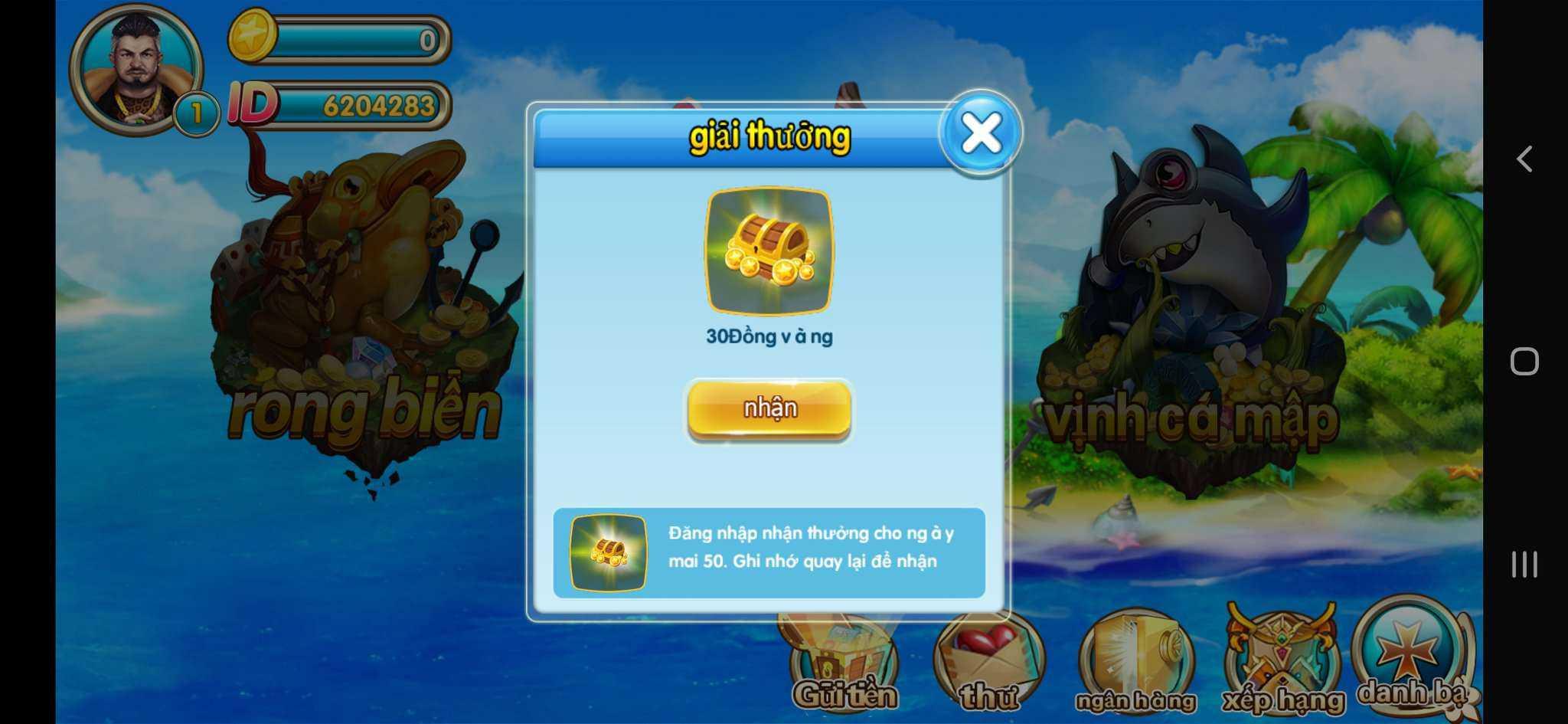 Hướng dẫn chơi game bắn cá W88 đổi thưởng trên điện thoại