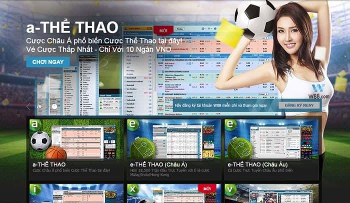 Hướng dẫn tải app cá cược bóng đá a-Thể thao w88 về điện thoại