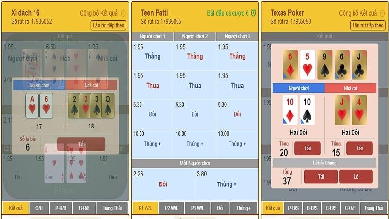 Table game tại W88 là gì? Cách cá cược trò chơi table game (trò chơi trên bàn)