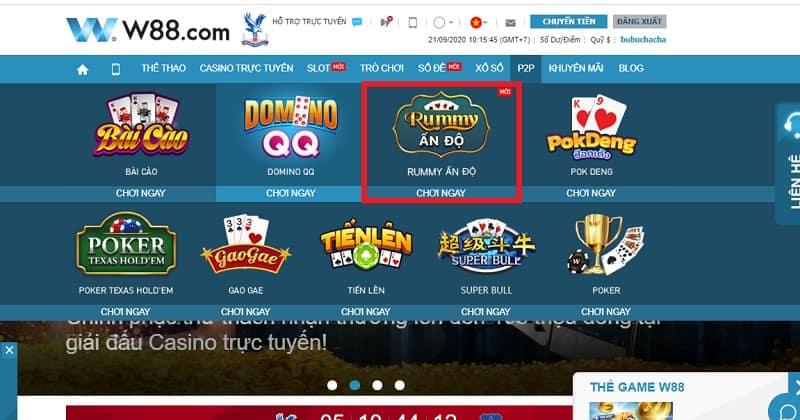 Rummy Ấn Độ là gì? Hướng dẫn chơi game Rummy Ấn Độ hot nhất tại W88