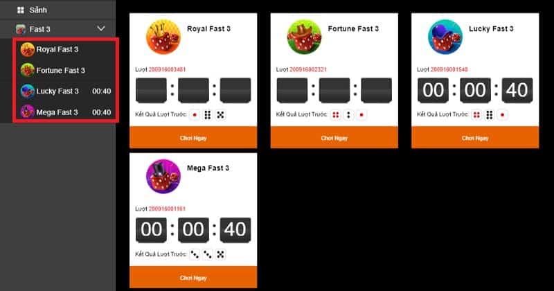 Xổ số Fast 3 là gì? Hướng dẫn chơi xổ số Fast 3 cực hot tại W88