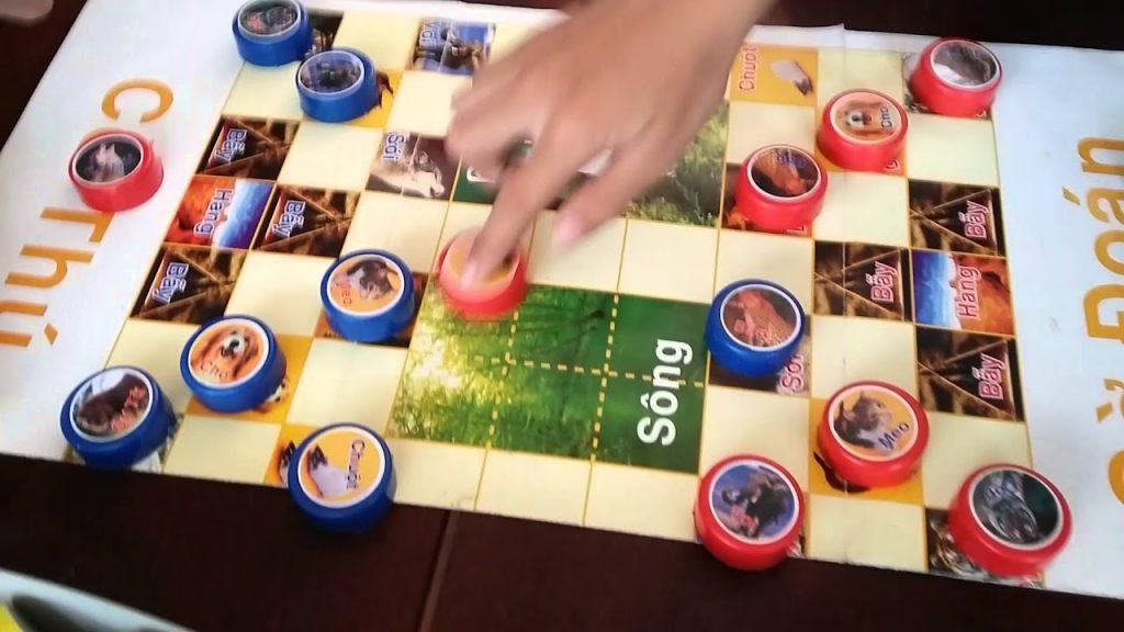 Game cờ thú thu hút nhiều đối tượng người chơi tham gia