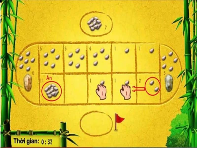 Người chơi tiến hành di chuyển quân theo thứ tự