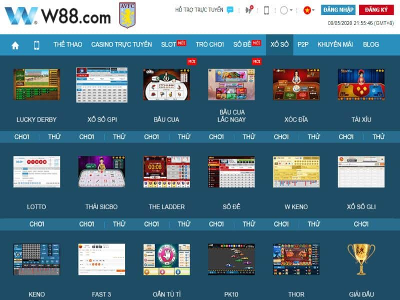 Nhà cái W88 hiện nay được anh em trong giới game cá cược đánh giá là sân chơi cá độ online tốt nhất tại châu Á
