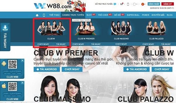 Hướng dẫn chơi cá cược 3 hình trực tuyến tại nhà cái W88